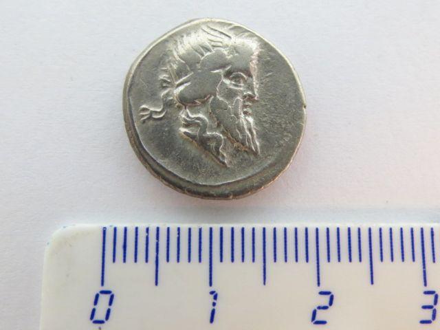 """מטבע דינר כסף, הרפובליקה הרומית מטביע: Titius שנת 90 לפנה""""ס, מצב VF"""