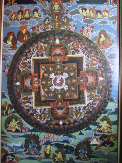 טנאקה, ציור יד על בד, סיפורי בודהא, טיבט-נפאל