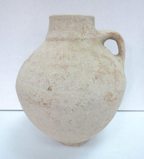 """כד חרס, תקופה פרסית, 500-300 לפנה""""ס, נדיר, גובה 28.5 ס""""מ"""