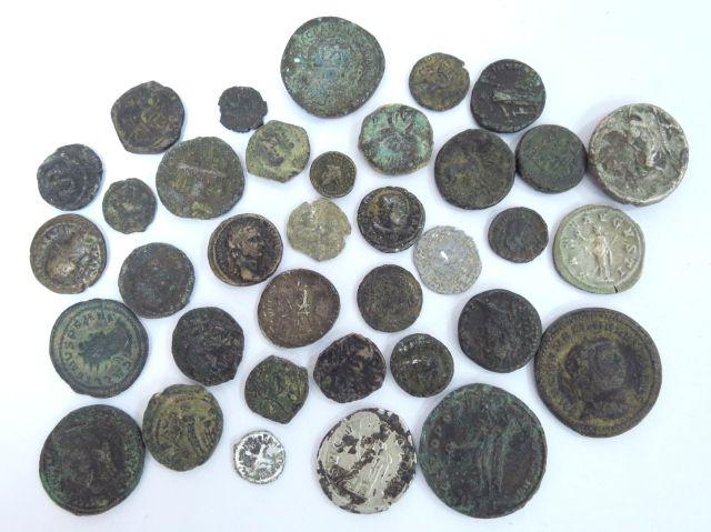 36 מטבעות ארץ ישראל, החל מהתקופה ההלניסטית עד לתקופה הצלבנית, מצבים שונים