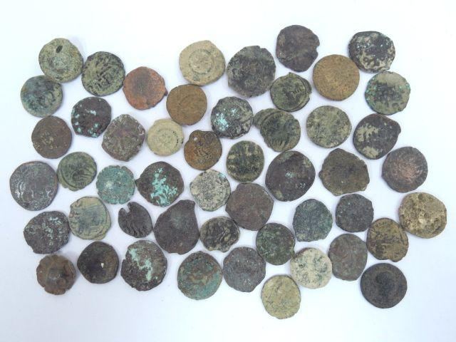 50 מטבעות ברונזה, ארץ ישראל רומיות ואיסלמיות