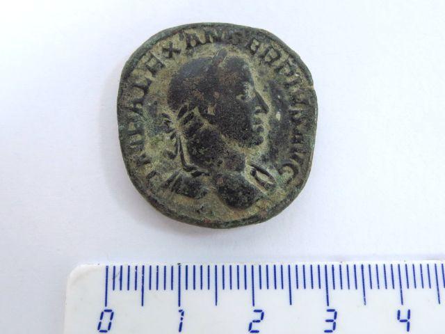 מטבע ססטרץ רומי, שלטון סוורוס אלכסנדר, 222-235 לספירה