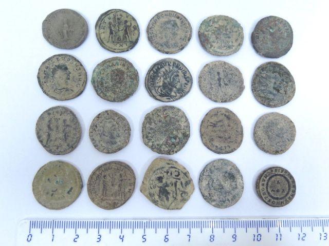 20 מטבעות ברונזה רומיות