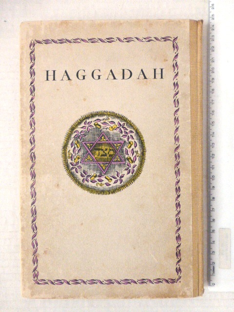 The Haggadah, a new edition with Eng. Translation by Cecil Roth, with drawings by Donia Nachshen, London, Soncino Press, 1934