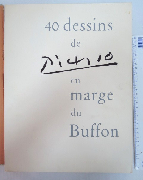 40 Dessins de Picasso en marge du Buffon, Paris, Jonquieres, 1957, numbered 1162/2226,  37.5X28.5 cm