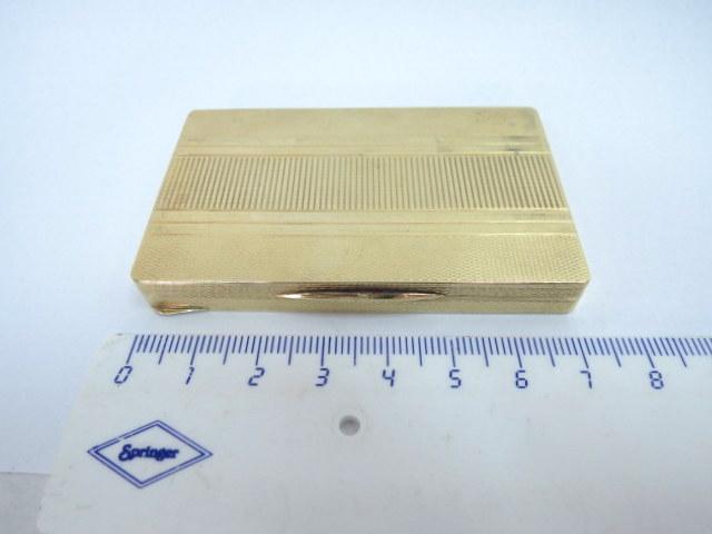 קופסת זהב 14K, לאבק הרחה 50.8 גרם
