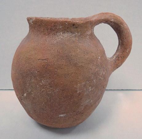 """כד חרס, תקופת הברונזה הקדומה 3100-2800 לפנה""""ס (זמן בניית הפירמידות הגדולות)"""