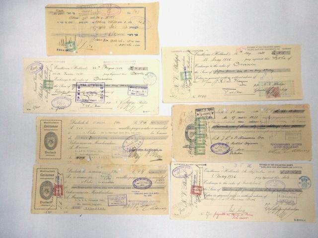 שבעה שטרות חוב שנפדו ארץ ישראל, שנות ה30