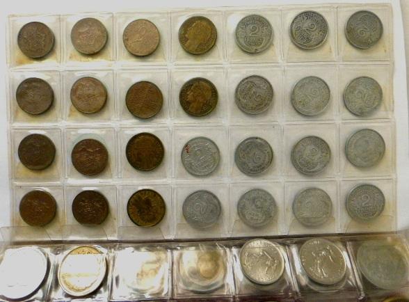 אלבום עם מטבעות, צרפת מתחילת עד סוף המאה ה20