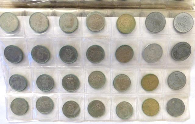 אלבום עם מטבעות, דנמרק, הרפובליקה הדומניקנית, אפריקה המזרחית ואקוודור