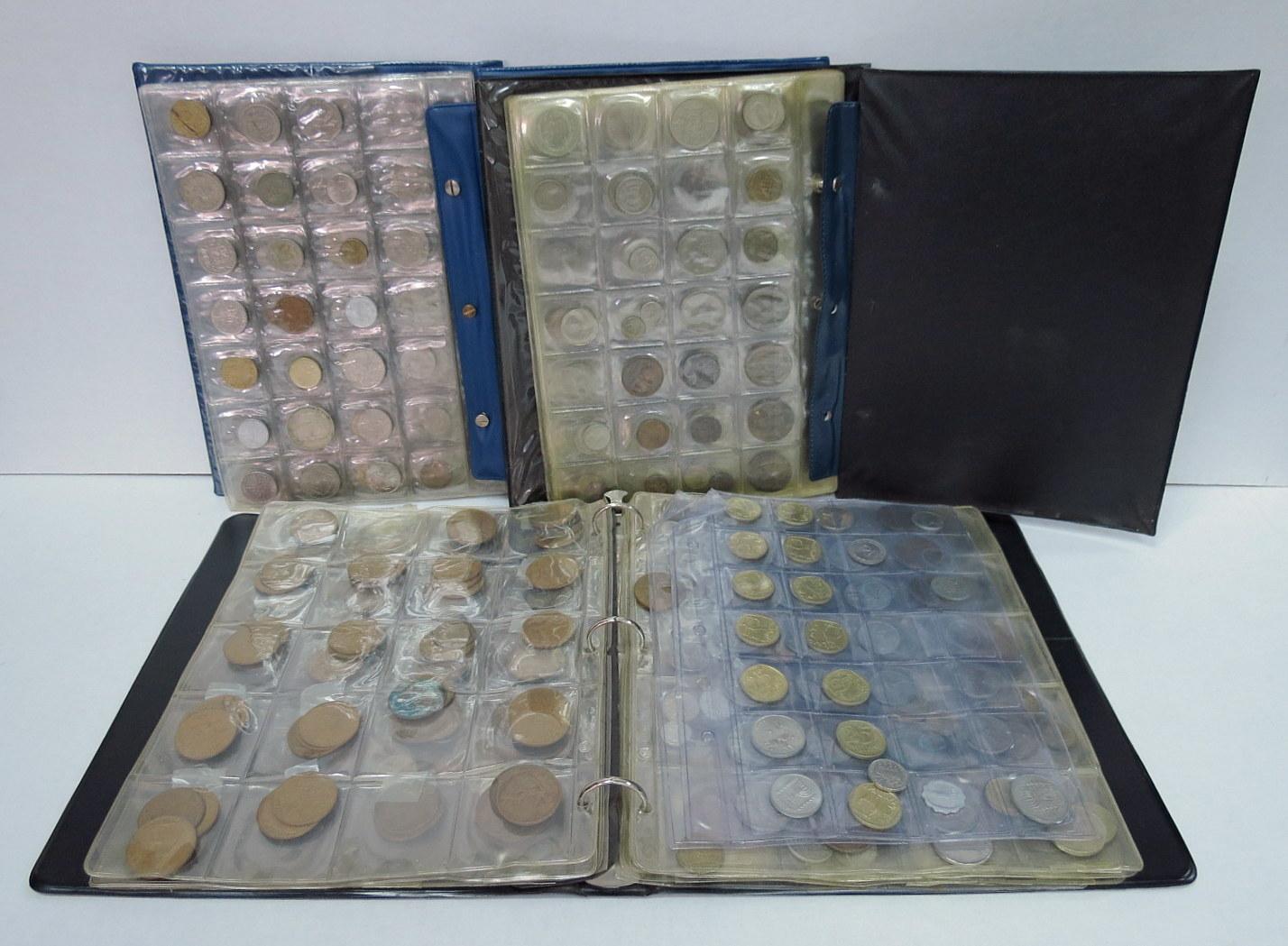 אוסף מטבעות, ישראל וכל העולם בשלושה אלבומים
