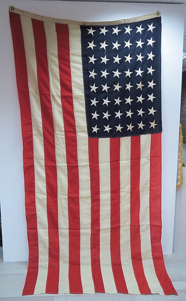 """דגל ארה""""ב, עם 48 כוכבים"""