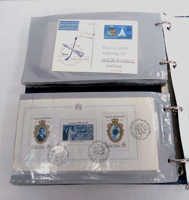 אלבום עם 130 מעטפות, ביול מיוחד ארצות אירופה לרוב, בנושאי ספורט, חלל ועוד, שנות ה80