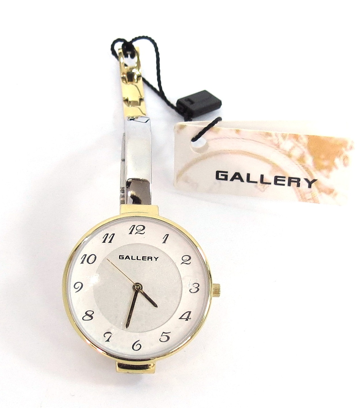 שעון יד תוצ Gallery, מנגנון קוורץ, לאישה, חדש, מצב עבודה