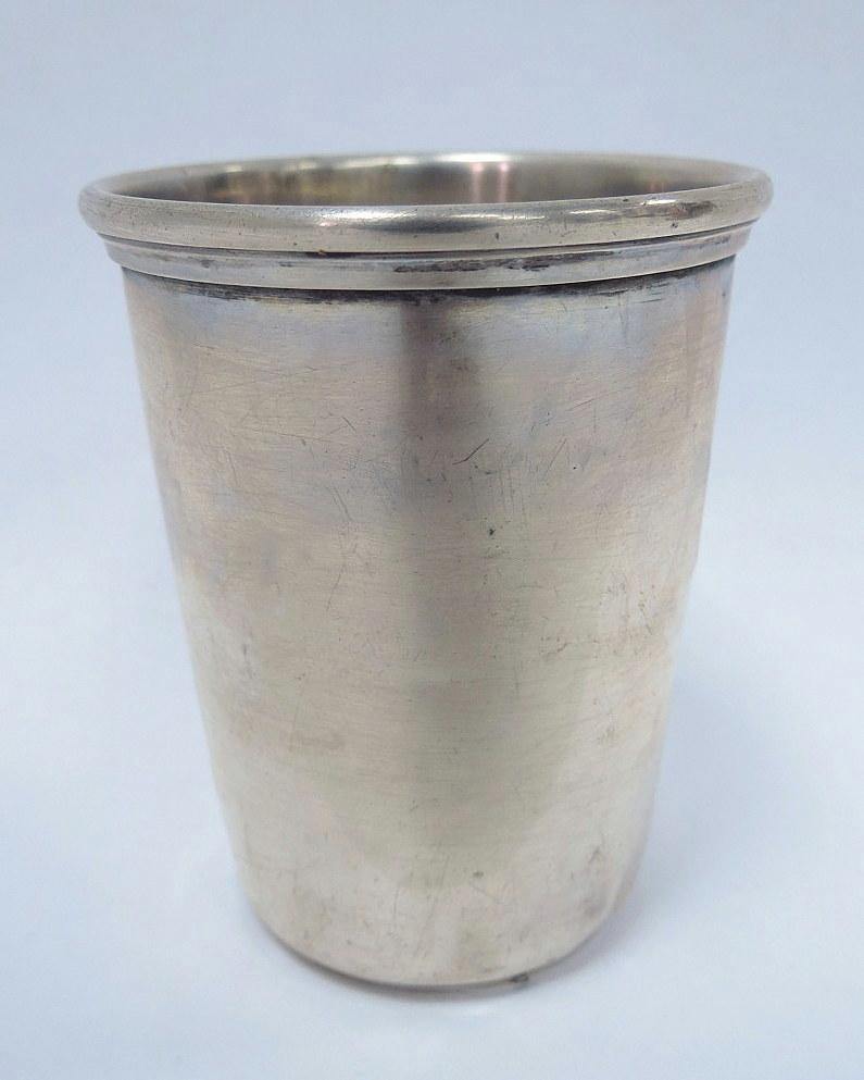 """כוס כסף 835, 40 גרם אורך 6.7 ס""""מ"""