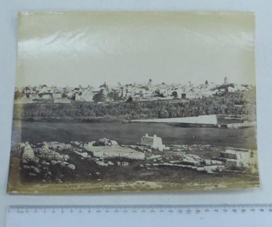 צילום אלבומין, סוף המאה ה19 רמלה, 25X28