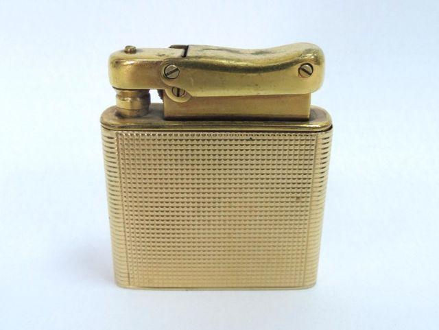 מצית בנזין, חיפוי זהב 14K 17.5 גרם