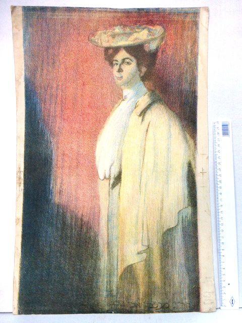 ליטוגרפיה צבעונית, גברת 51X33