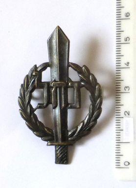 """סמל כומתה של הנח""""ל, צה""""ל, תחילת שנות ה50 (נדיר)"""