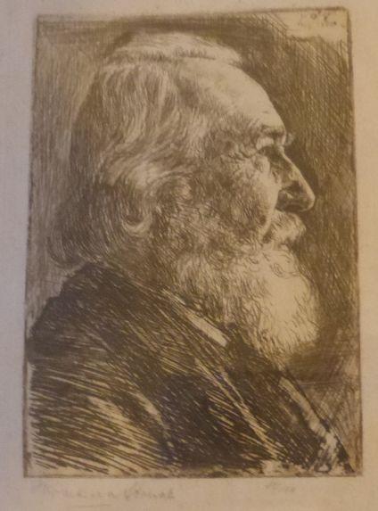 תצריב, דיוקן, חתום, 22.6.1906, 10X7