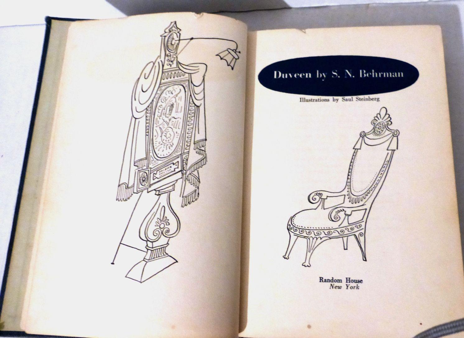Duveen, Random House N.Y, 1952 with orig. Exlibris of Hermann Struck