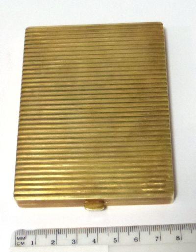 קופסת סיגריות, זהב 14K כ-203 גרם