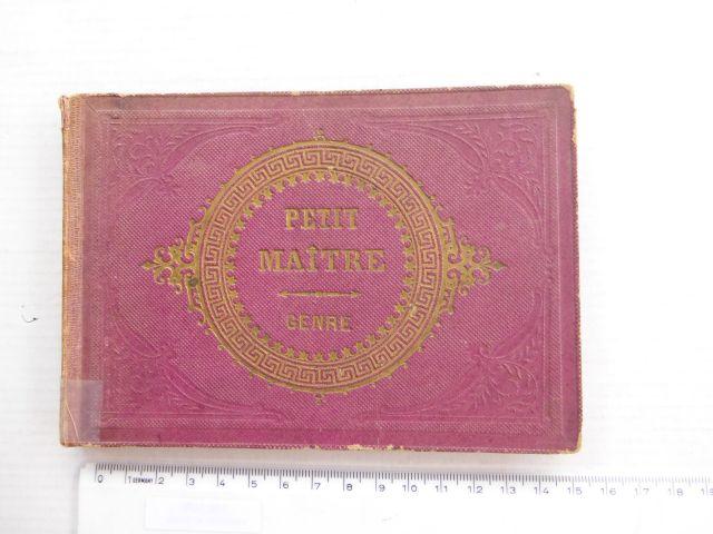 אלבום עם דוגמאות רישום ללימוד Genre -Petit Maitre