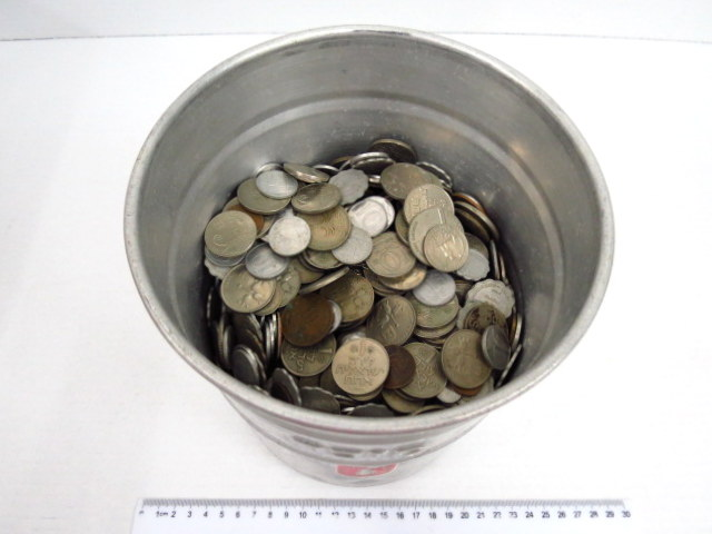 """שבעה ק""""ג מטבעות ישראלים שיצאו מהמחזור"""