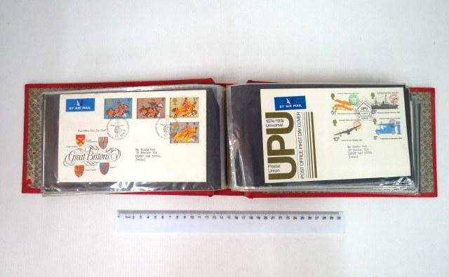 אלבום מעטפות יום הופעת הבול אנגליה, שנות ה70