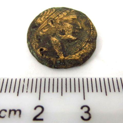 מטבע ברונזה סלווקי, שלטון דמיטריוס הראשון