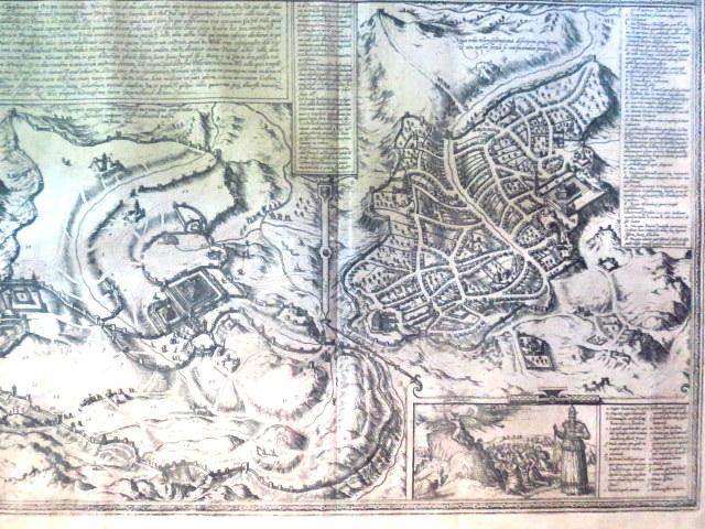 תחריט נחושת, מפת ירושלים