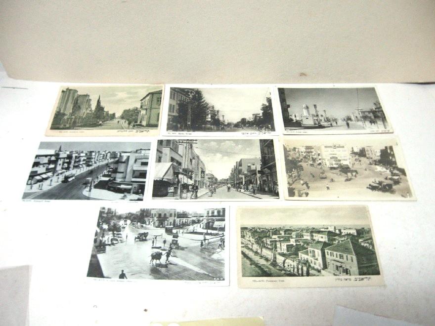 8 גלויות, מראות תל-אביב שנות ה20 וה30