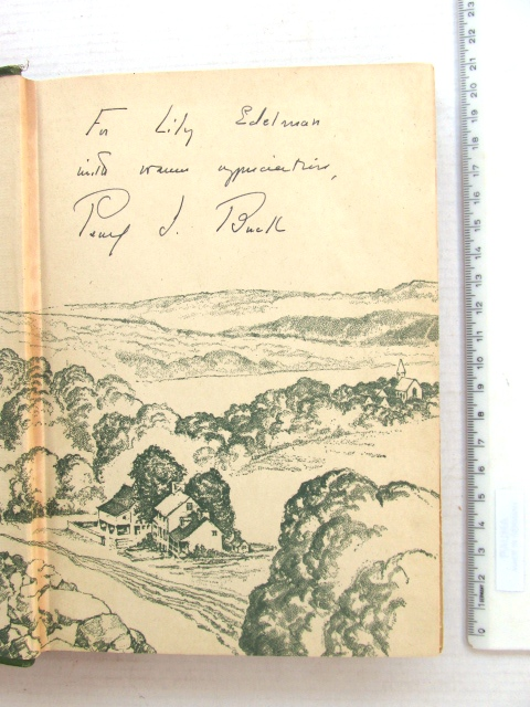 Portrait of a marriage, New York 1945 with signed dedication to Lily Edelman by the author