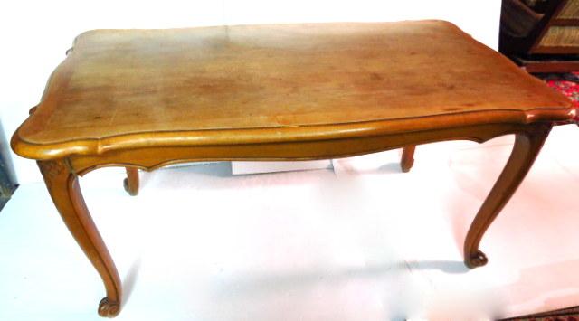 שולחן סלוני סגנון קוין אן פגום