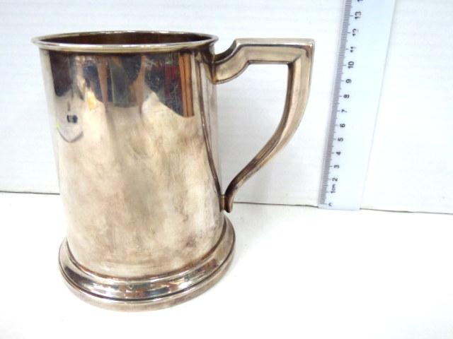 כוס בירה עשויה כסף תוצ Carrs שפילד, אנגליה