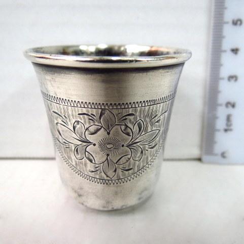 כוסית כסף 84, צ'רקה, רוסיה הצארית 1872