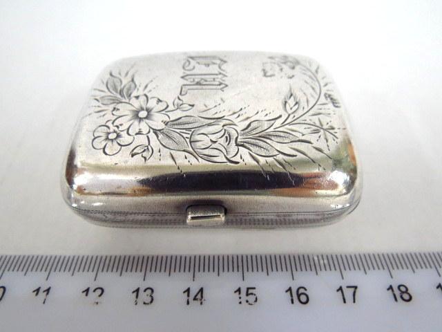 קופסת טבק, כסף 84, מוסקבה רוסיה
