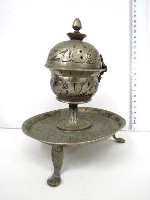 מתקן קטורת קטן, טורקיה או פרס