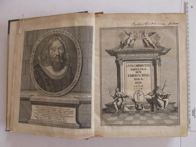 Ebraeo Caldaicarum, Jena 1734