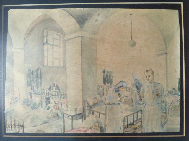 חתום וכן כתוב Terezin 1943