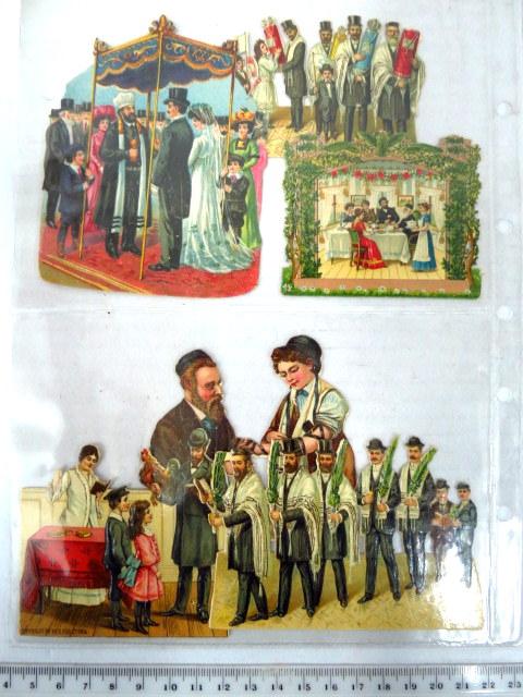 תחילת המאה ה20 עבור השוק היהודי האמריקני: שמחת תורה, סוכות (2), הנחת תפילין, כפרות, חתונה