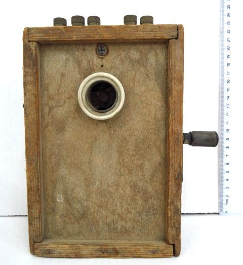 """מכשיר דינמו לביצוע פיצוצים, """"בארוד"""", ישראל, שנות ה50"""