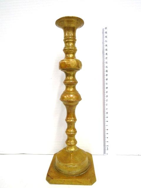 פמוט ברונזה יחיד, המאה ה19