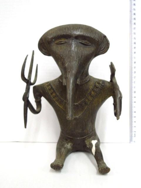 פיגורת ברונזה אפריקנית, שד צורת פיל