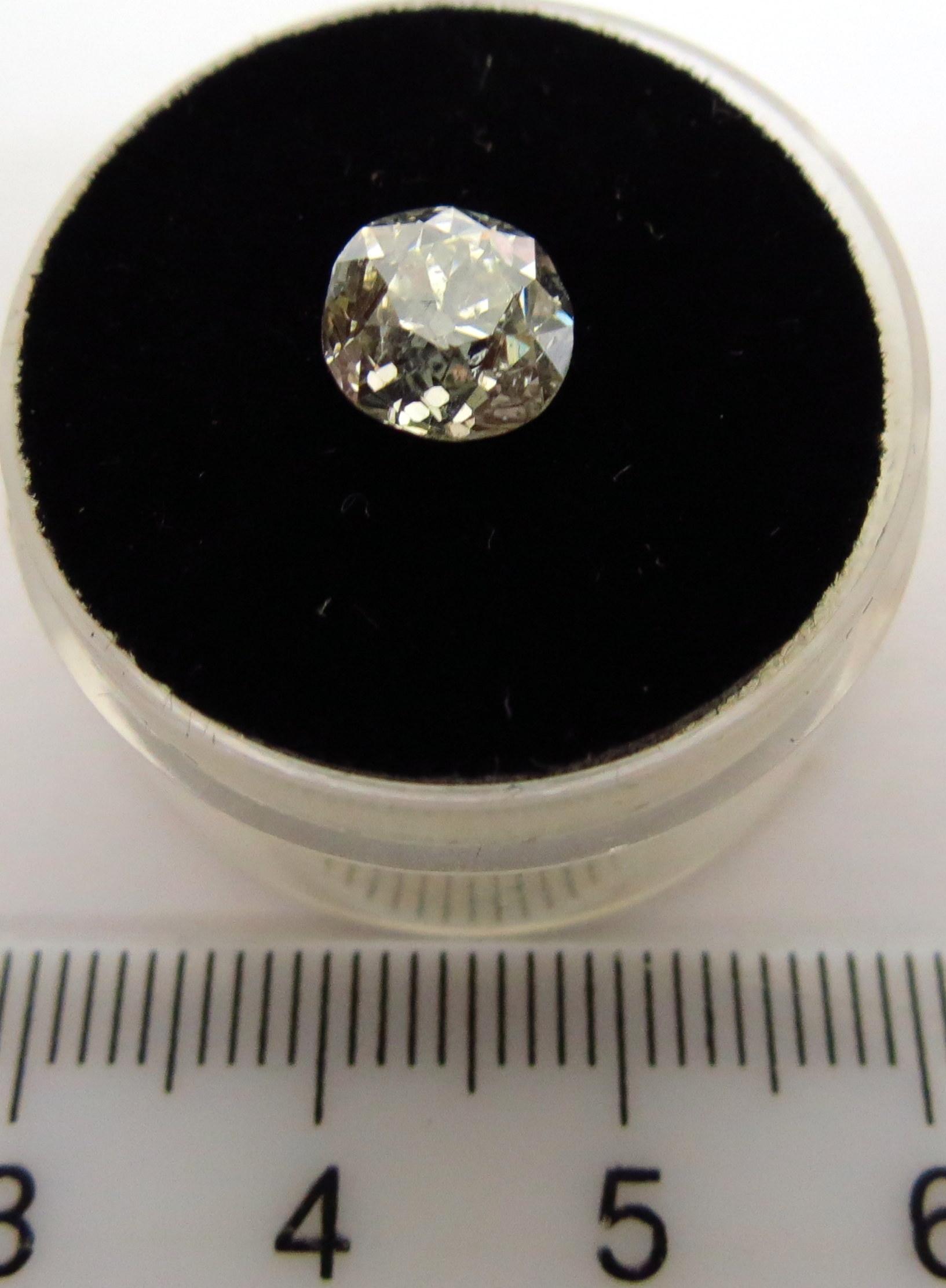 יהלום ליטוש ישן SI-2 צבע: G,