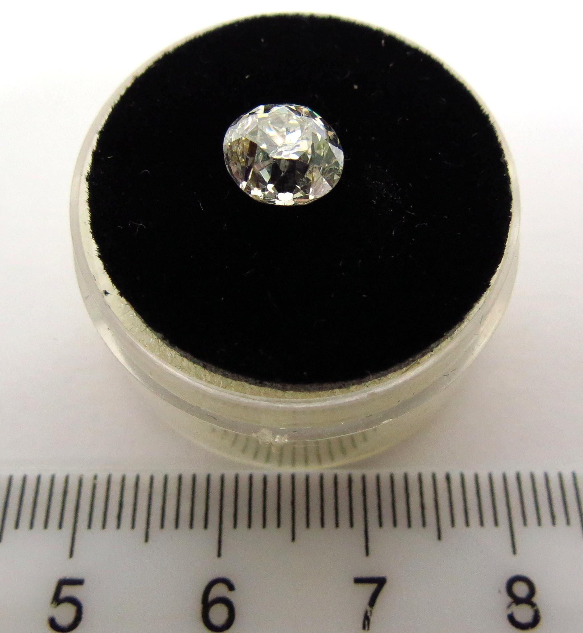 יהלום SI-2 צבע: G, ליטוש ישן