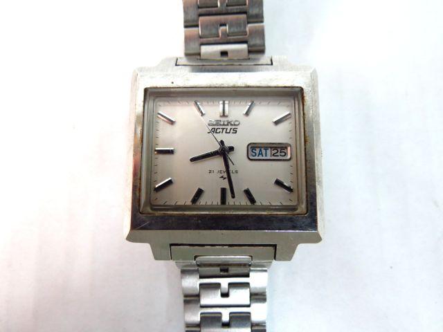 שעון יד תוצ Seiko, יפן דגם Actus, עם יום ותאריך, מנגנון אוטומטי