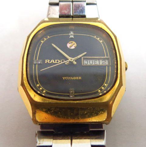 שעון יד תוצ Rado, דגם Voyager עם תאריך ויום, מצב עבודה