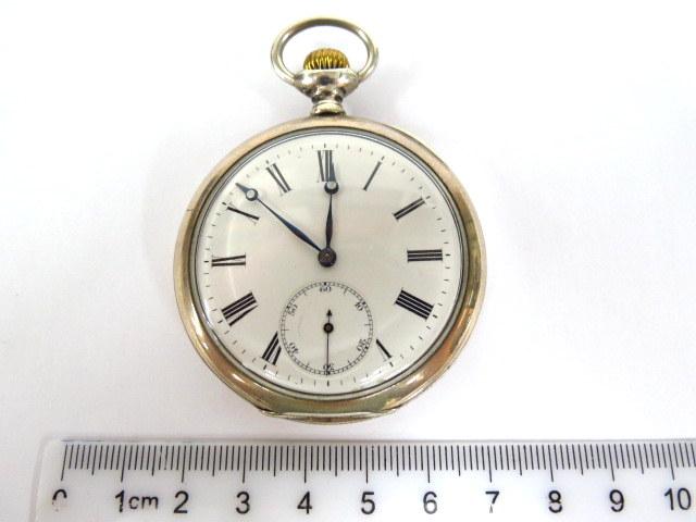 שעון כיס, הקופסה כסף 800 שני מכסים, מצב עבודה