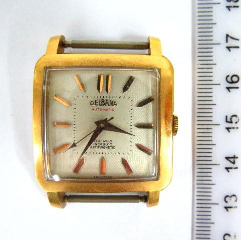 שעון יד תוצ Delbana, שוויץ מנגנון אוטומאטי